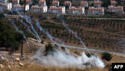 Pamje të fshatit Nabi Saleh,