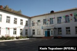 Школа в поселке имени Туймебаева Алматинской области.