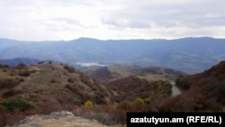 Armenia -- A view of the Tavush province bordering Azerbaijan, November 6, 2018.