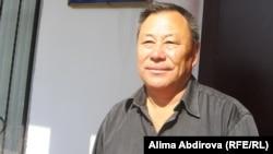 Алдаберген Аймагамбетов, студент юридического факультета Казахско-русского международного университета. Актобе, 16 сентября 2011 года.