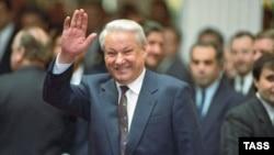 Борис Ельцин в декабре 1991 года