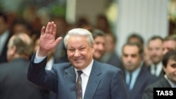 Belarus/Russia/CIS – President Boris Yeltsin ahead of CIS head of states meeting, Minsk, 30Dec1991