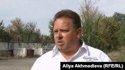 Александр Селюнин, бывший директор фирмы«Сана+». Алматинская область.