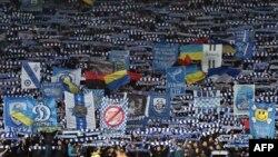 Ультрас «Динамо» на стадионе