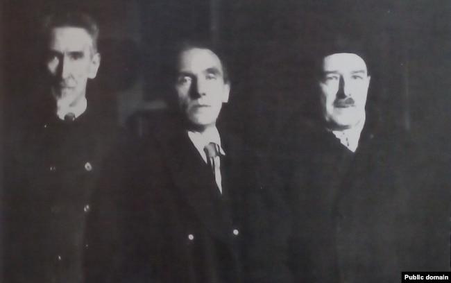 Уладзімер Самойла, Францішак Аляхновіч, Антон Луцкевіч. 1930-я гг.