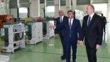 Azerbaijan -- President Ilham Aliyev inaugurates high-voltage equipment plant in Baku - 22May2018