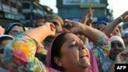 Протести во Кашмир