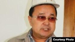 Кармыс Разбай, отец школьницы, заболевшей после вакцинации от кори. Жанаозен, 26 марта 2015 года.