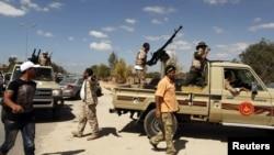 Anëtarë të milicisë në Libi, foto nga arkivi
