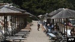 Илустрација: Плажа во Грција