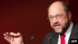 Martin Schulz, leader of the S&D group in the European Parliament (file photo)