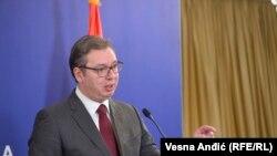 Архива - српскиот претседател Александар Вучиќ.