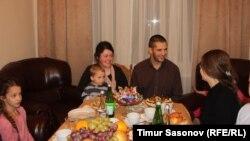 Торжественный ужин в честь приезда