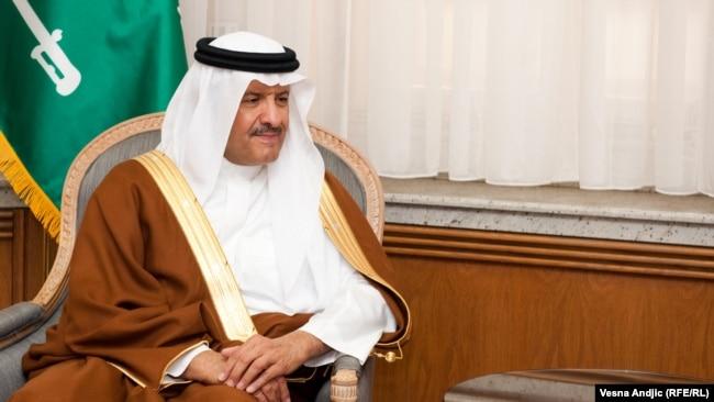 Канзаада Султан ибн Салман ас-Сауд.
