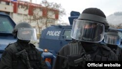 In addition to making seven arrests, Kosovo's police said in a statement that they had also confiscated equipment and other evidence.