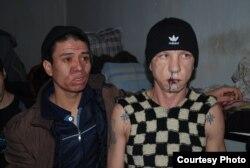 Kirgistan, zatvorenici šivali usne, Bishkek, 24. januar, 2012.