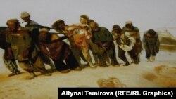"""""""Кеме сүйрөөчүлөр"""". Илья Репин. 1870-73-жылдар."""