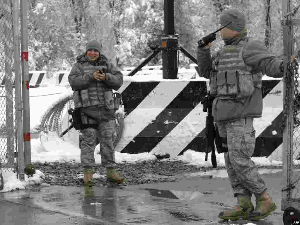 Посольство США в Кигризстане не получало уведомление о закрытии военной базы Манас