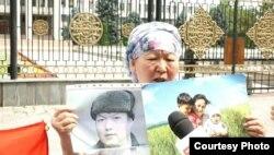 Муратбек Тунгышбаевдин апасы. Бишкек. 20-июнь, 2018-жыл.