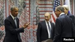 Через два дня после встречи Барака Обамы и Владимира Путина в Нью-Йорке Россия начала воздушную кампанию в Сирии