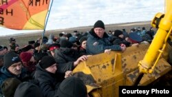 Протесты против строительства никелевого комбината в Воронежской области. Ноябрь 2013 года