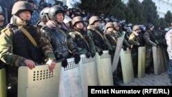 Митинг в одном из регионов КР. Иллюстративное фото.
