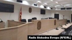 Основен суд Скопје 1, празна судница