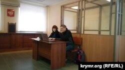 Ихор Мовенко на суд во Севастопол.