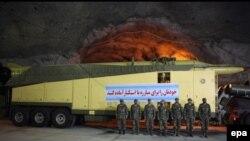 عکس از آن چه به عنوان دومین شهر زیرزمینی موشکی ایران معرفی شد.