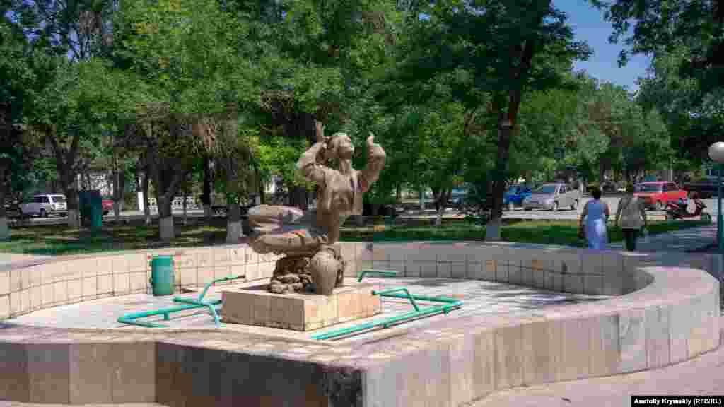 Фонтани в міських парках – сухі