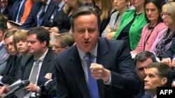 Британ өкмөт башчысы Дэвид Кэмерон парламентте. 2-декабрь, 2015-жыл