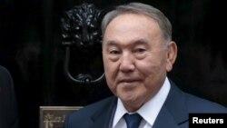 Қазақстан президенті Нұрсұлтан Назарбаев. Лондон, 3 қараша 2015 жыл.