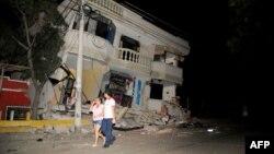 مرکز لرزهنگاری آمریکا، عمق زمینلرزه را ۱۹ کیلومتری سطح زمین، در نزدیکی ساحل اکوادور، در غرب آن کشور، اعلام کردهاست