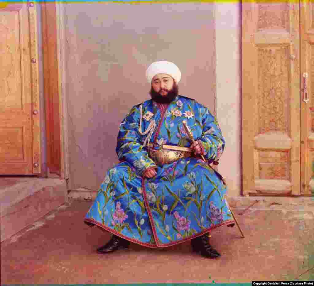 The Emir of Bukhara, 1911