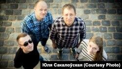 Беларускі музычны гурт Rahis. Фота Юлі Сакалоўскай