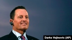 U.S. presidential envoy for Kosovo-Serbia dialogue Richard Grenell (file photo)