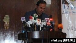 احمد یوسف رشید مسئول اجرائیوی بنیاد انتخابات آزاد و عادلانۀ افغانستان