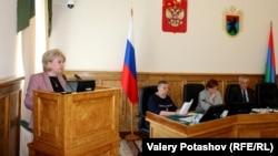 Эмилия Слабунова в парламенте Карелии