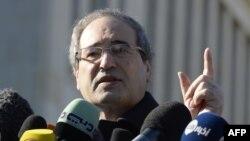 فیصل مقداد، معاون وزیر امور خارجه سوریه، میگوید که «این دور از مذاکرات به هیچ پیشرفتی منجر نشده است».
