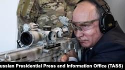 Уладзімір Пуцін выпрабоўвае новую зброю