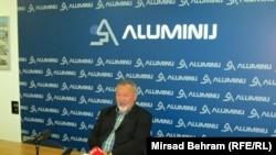 Ivo Bradvica na konferenciji za novinare