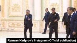 Кадыров в Узбекистане