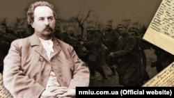 Євген Чикаленко (1861–1929). Ілюстрація Національного музею історії України