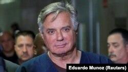 Пол Манафорт после судебного заседания в Нью-Йорке