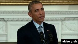 Barack Obama Ağ Evdə mətbuat konfransı keçirib