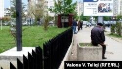 Pamje në Prishtinë
