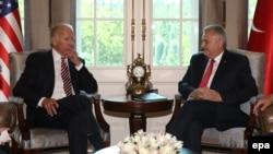 Joe Biden I premijer Turske Binali Jildirim