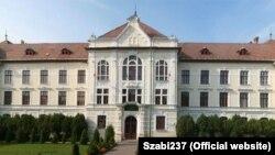 Clădirea fostului Liceu Unirea, unde a funcționat Liceul teologic romano-catolic