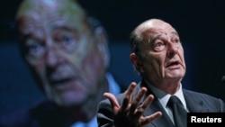 Бывший президент Франции и мэр Парижа Жак Ширак