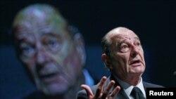Bivši francuski predsjednik Jacques Chirac, 2010.